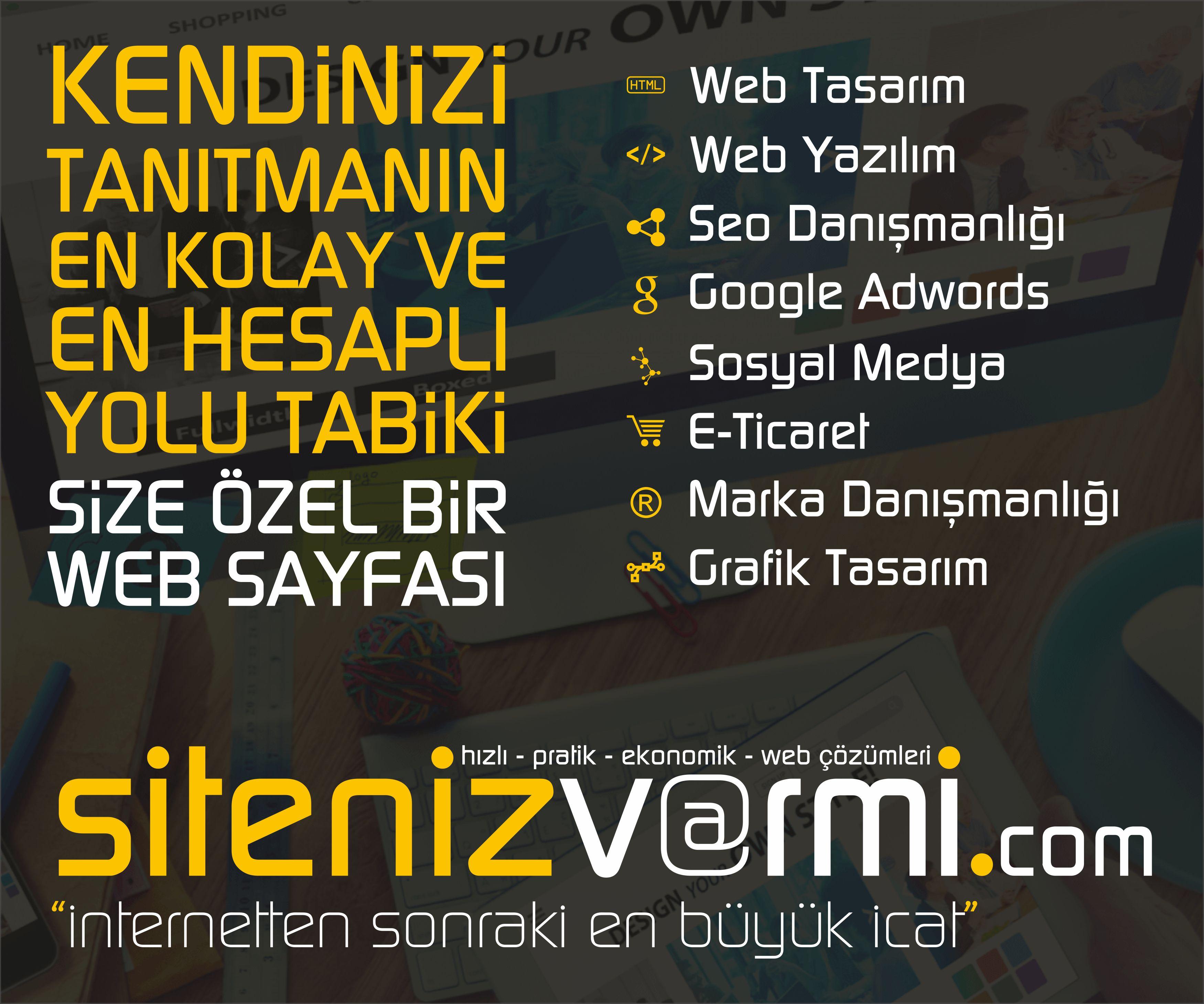 sitenizvarmi.com web tasarım
