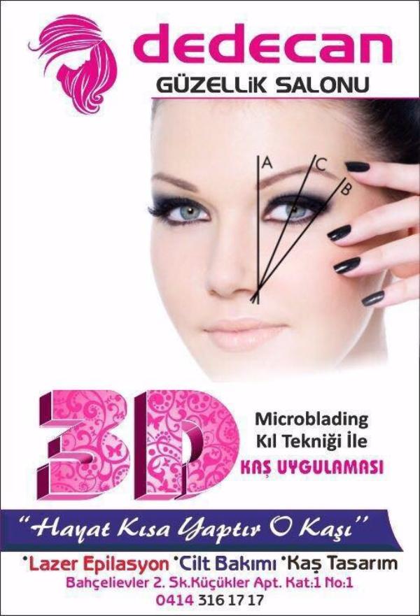 Microblading 3D Kaş Yaptırma